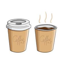 Coffee to go. Kaffee. klein