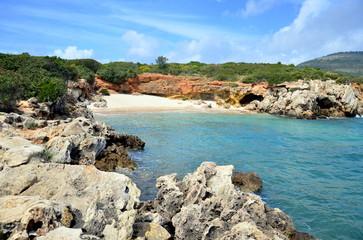 Beach near Alghero, Sardinia