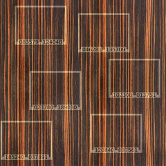 Abstract Ebony wood texture - seamless background -  code label