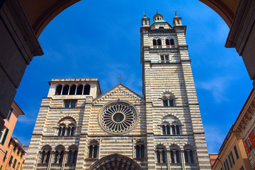 Genoa Cathedral - is a Roman Catholic cathedral