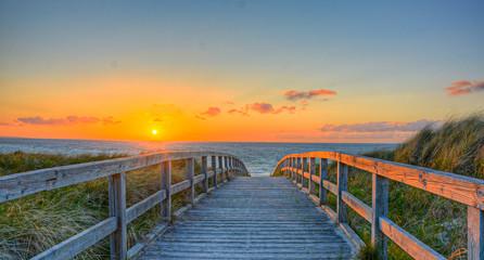 Fototapete - Strandbild Wasser Ostsee