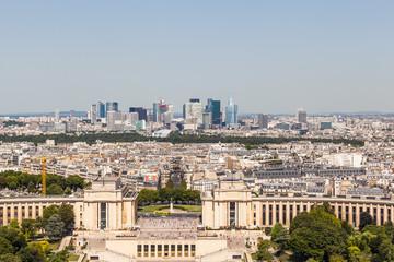 Skyline of Paris La Defense