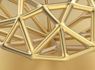 Low poly Outline Diamond. Jewelry Background. brilliant grid