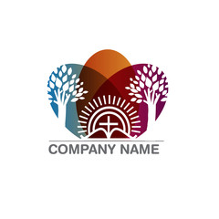 Template logo for churches and Christian organizations