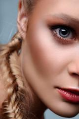 Fashion beauty commercial model