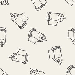 facial tissue doodle doodle seamless pattern background