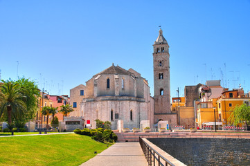 Cathedral church of Barletta. Puglia. Italy.