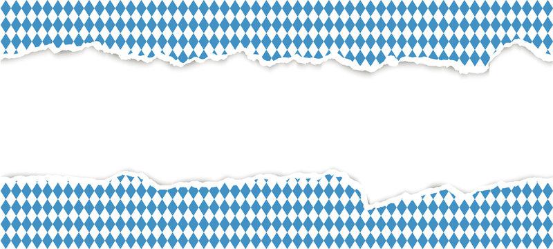 ripped open paper Oktoberfest