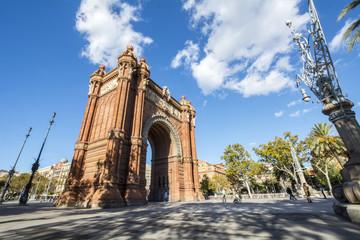 Arc de Triomf, Barcelone, Spain