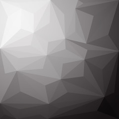Black and White Abstract Triangle vector