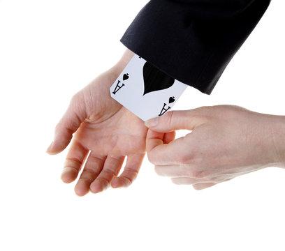 an ace up your sleeve
