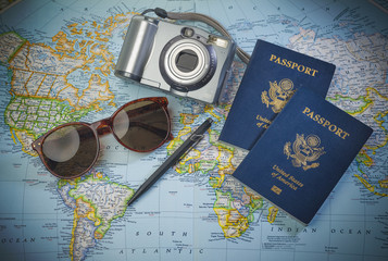 Passports to world travel