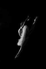 Ballerina in jump