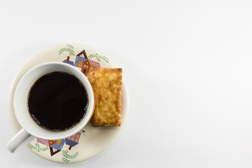 Salty Crackers With Coffee