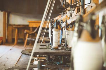 Vintage spinning mill.