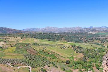 Paysages de Ronda, Espagne