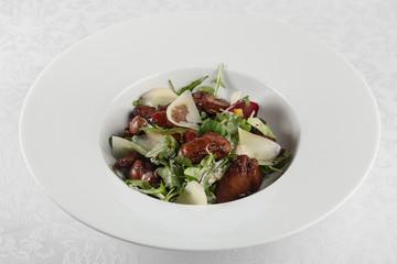 Salad of chicken liver