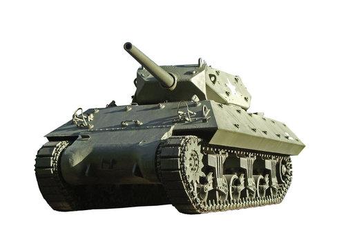 US WW2 M10 tank destroyer