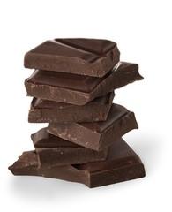 Chocolate, Dark Chocolate, Stack.