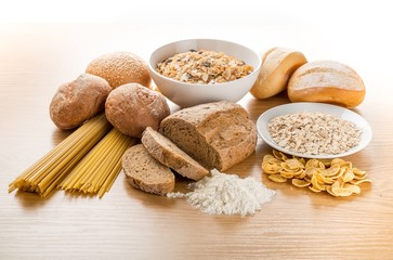 Bread, Cereal Plant, Pasta.