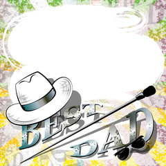 fathers day, retro background