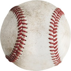 Baseball, Baseballs, Dirty.