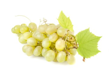 Grape, White Grape, Bunch.