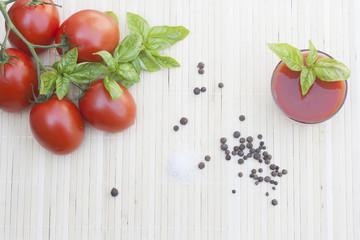 Tomatos and tomato juice