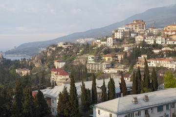 Town on the Black Sea coast