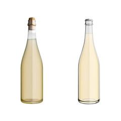 Seccoflaschen mattiert und klar