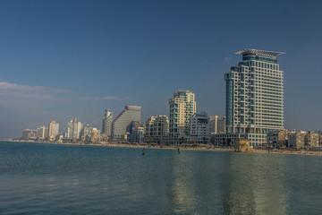 Beach in Tel Aviv Israel
