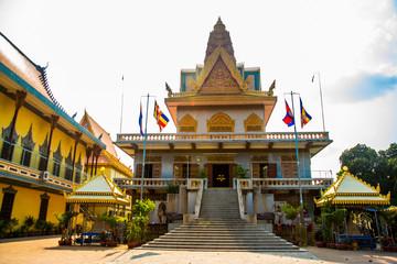 Temple Cambodia.Phnom Penh.