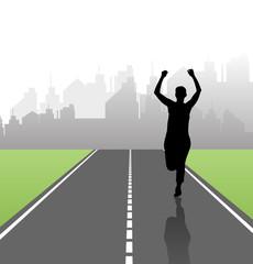 Marathon illustration