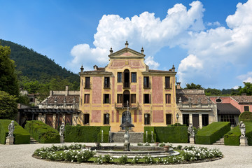 Villa Barbarigo, Pizzoni Ardemani, Valsanzibio, historic palace (16th-17th century).