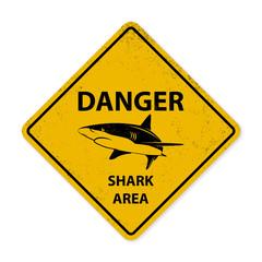 Shark sighting sign