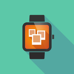 Smart watch with photos