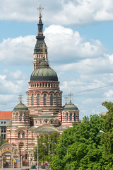The Annunciation Cathedral (1901) in a summer day in Kharkiv, Ukraine