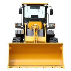 Modern heavy bulldozer