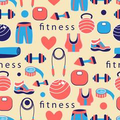 pattern of sports equipment