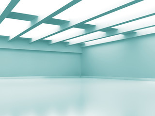 Abstract Empty Room Modern Interior Background