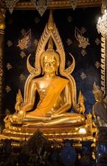 Phra phuttha chinnarath in Phitsanulok province ,Thailand