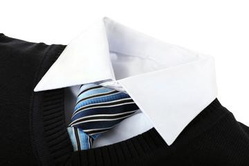 Men elegance clothes, closeup