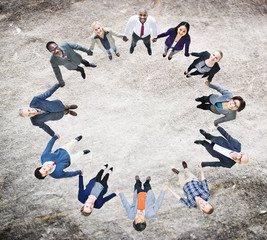 Team Corporate Togetherness Unity Connection Concept