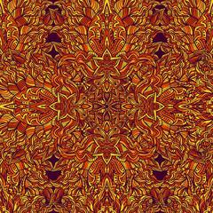 Colorful floral seamless pattern Islamic Arabic ornament design