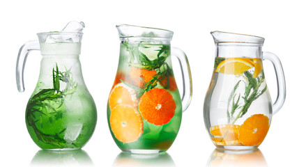 Detox water with tarragon