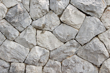 Background of stone walls