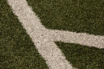 Fußball Feld Linien