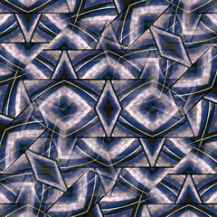 Geometric Textured Abstract Pattern