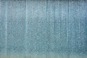 Strip zinc wall