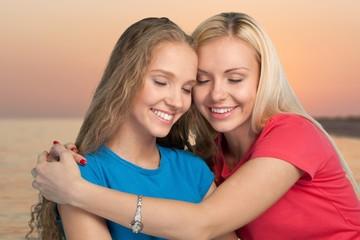 blond brunett lesbisk sex